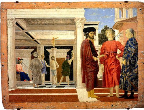 Il magnifico Piero e la flagellazione